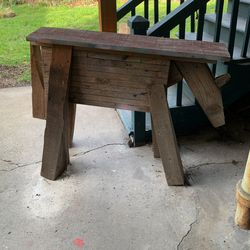 Handmade Saw Horse/bench for Sale in Seattle,  WA