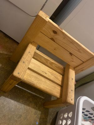 Handmade kids wooden chair for Sale in Greenbrier, TN