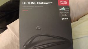 New LG Tone Platinum HBS 930 Bluetooth Headset for Sale in High Point, NC
