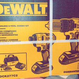 DEWALT 20v 2combokit Brushless for Sale in Manassas, VA