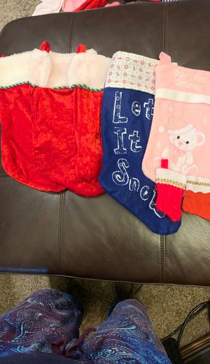 Christmas stockings for Sale in Hickman, CA