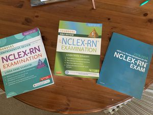 NCLEX RN Exam Review Books for Sale in New Albany, OH