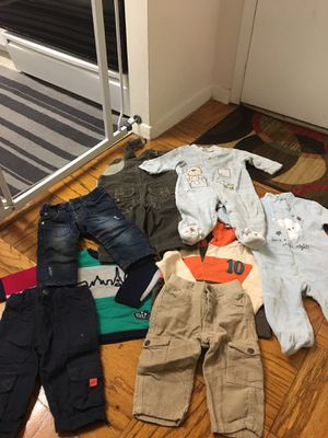 6 to 9 months winter clothes for Sale in Silver Spring, MD