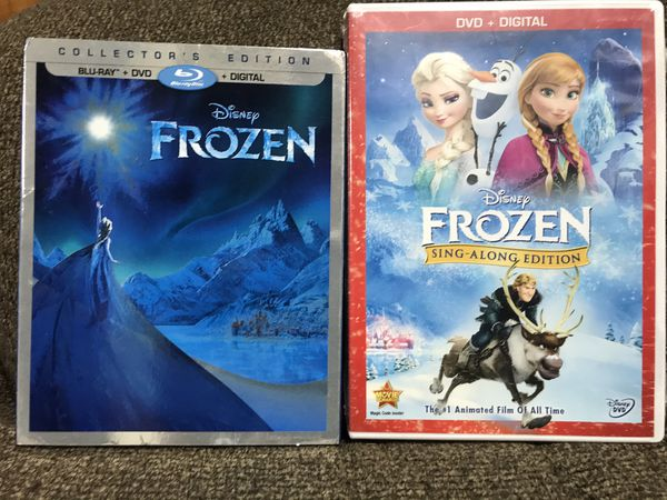 Frozen DVDs