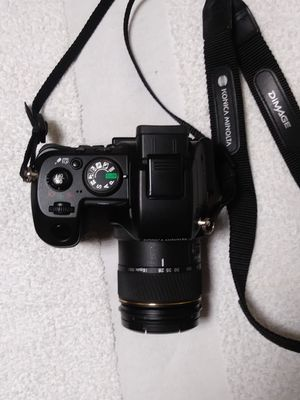Konica Minolta Dimage A200 8mp 35 mm digital camera bundle for Sale in Philadelphia, PA