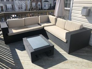 5-PCS patios furniture for Sale in Frederick, MD