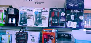 New coffee makers from $14.99 up to $19.99 for Sale in Phoenix, AZ