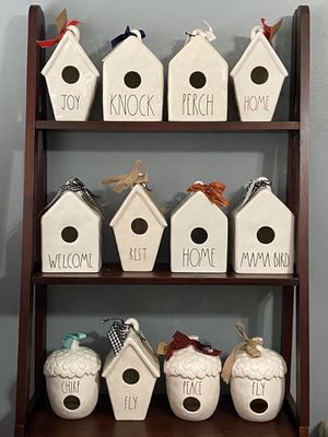 Rae Dunn Birdhouses for Sale in Los Angeles, CA