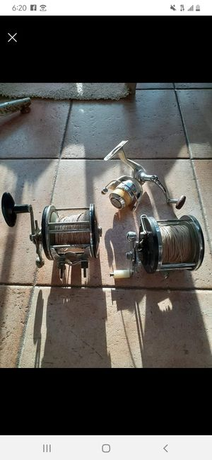 fishing reels all $40 for Sale in Lauderdale Lakes, FL