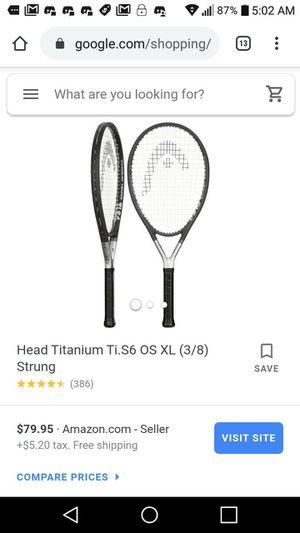 Head Titanium tennis rackets for Sale in Orlando, FL