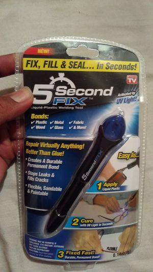 5 second Fix Liquid plastic welding tool for Sale in Bakersfield, CA