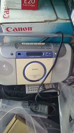 I'm open to offers... please ask...Sony CD Radio cassette coder for Sale in Glendale, CA