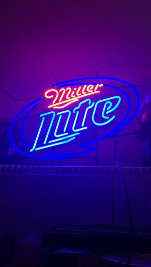Miller Lite neon for Sale in Lexington, KY