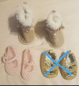 Baby girls shoes Size: 2 (3-6 months). Bonanza & Nellis. for Sale in Las Vegas, NV