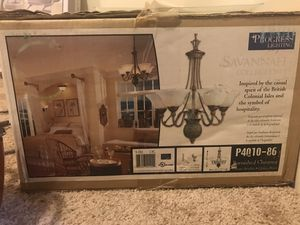Chandelier (Progress lighting) for Sale in Glen Burnie, MD