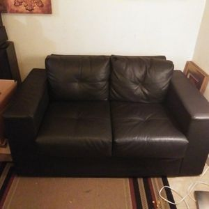 Leather Loveseat for Sale in Federal Way, WA