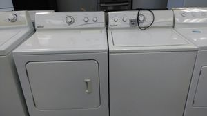 """Maytag Neptune """"washer & dryer set"""" (white) for Sale in Cleveland, OH"""