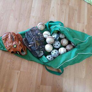 softball and baseball equipment for Sale in San Jose, CA