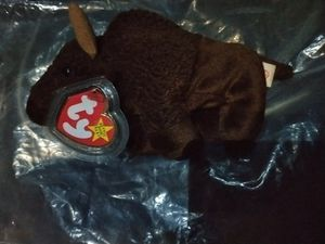 Ty beanie baby very rare new condition kept in safe and plastic hard tag cover smoke free home never played with for Sale in Cumming, GA