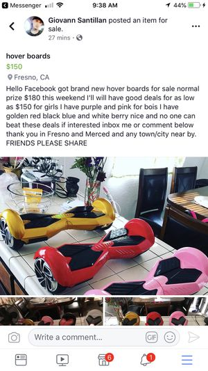 New Hoverboards in box Bluetooth and charger for Sale in Fresno, CA