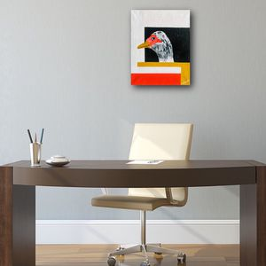 ''I SEE YOU!'' Positive art painting by artist W.C-M.T.L. for Sale in Arlington, VA