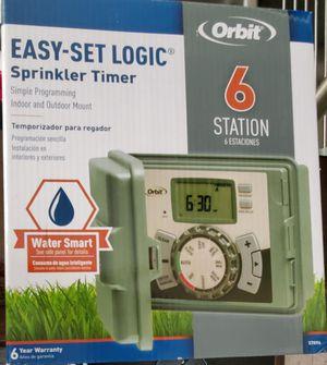 6 station sprinkler timer for Sale in Windsor Hills, CA
