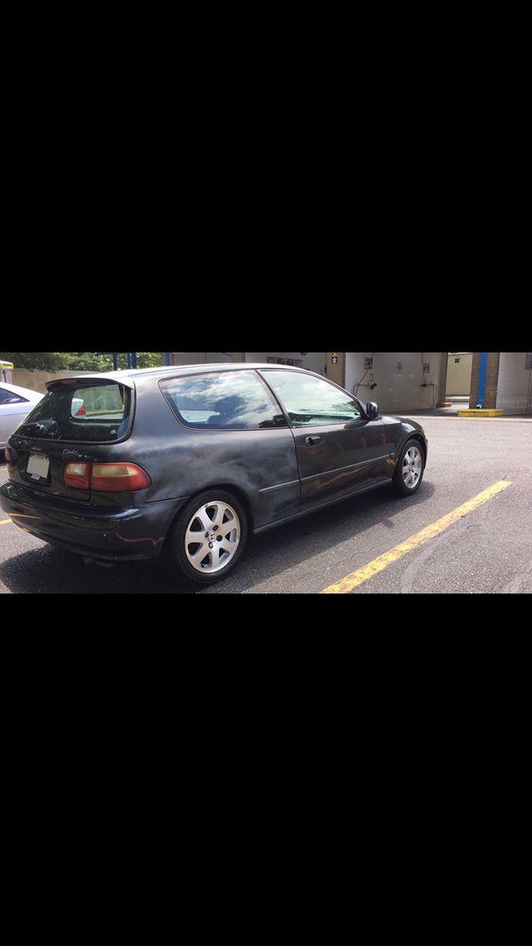 1995 Honda Civic Dx Hatchback