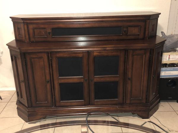 Tv stand electrical