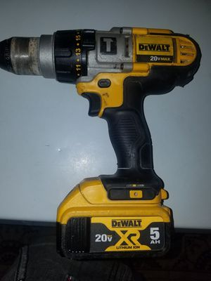 Dewalt drill with nice 5ah battery for Sale in Columbus, OH