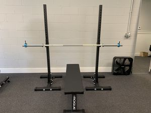 Rogue Squat Rack, Barbell, & Bench for Sale in Columbus, OH