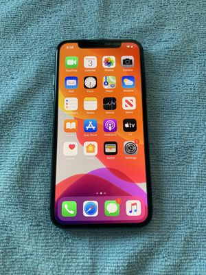 iPhone X 256Gb Space Gray Unlocked for Sale in Moreno Valley, CA
