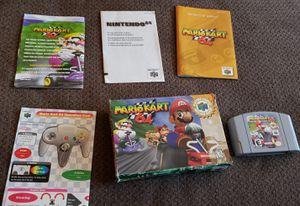 Nintendo 64 Mariokart(complete) for Sale in Hershey, PA