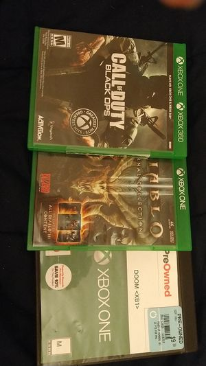 3 Xbox one games for Sale in Everett, WA