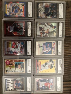 10 big name rookie baseball cards for Sale in Bristow, VA
