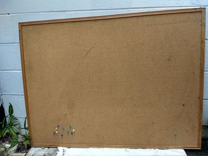 Large Cork Pinboard W/ Few Pins for Sale in Pinellas Park, FL