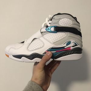 Jordan 8 South Beach Multiple Sizes Available for Sale in North Bergen, NJ