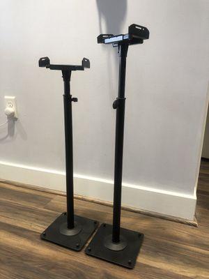 2 Adjustable Bookshelf Speaker Stands for Sale in Washington, DC