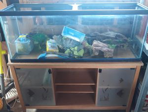 Fish tank with stand for Sale in Arvada, CO