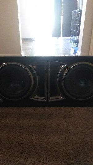 2 10in spx pro audio subs. In a box for Sale in Edgewood, MD