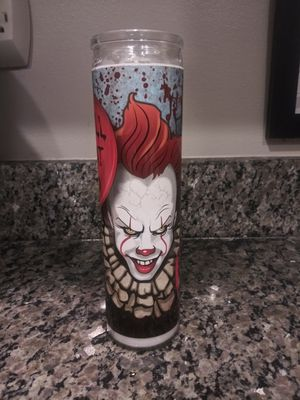 Pennywise: Stephen King IT candle for Sale in Gaithersburg, MD