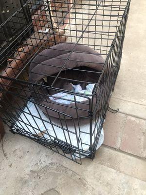 Jaula para perritos con todo y la cama for Sale in Moreno Valley, CA