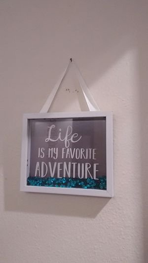 Glitter Wall Quote Picture for Sale in San Angelo, TX
