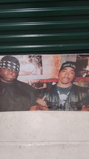 Notorious B.I.G and Tupac Poster for Sale in East Point, GA