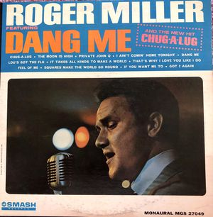 "Roger Miller ""Dang Me"" Vinyl Album $10 for Sale in Ringgold, GA"