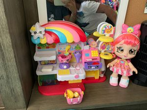 shopkins grocery play with doll for Sale in San Diego, CA