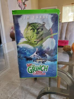 The grinch vhs for Sale in Stockton, CA