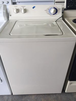 GE washer in excellent condition plus 4 months warranty for Sale in Pompano Beach, FL