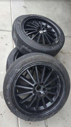 18 inch rims 5x100 tsw for Sale in Salt Lake City, UT