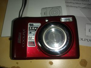 Nikon CoolPix L20 Digital Camera - manual and software disk for Sale in Lynnwood, WA