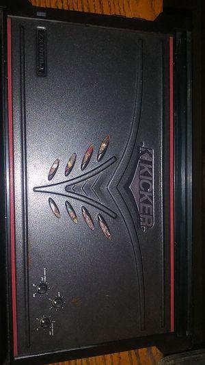 Zx1000.1 kicker amp for Sale in Hammond, IN